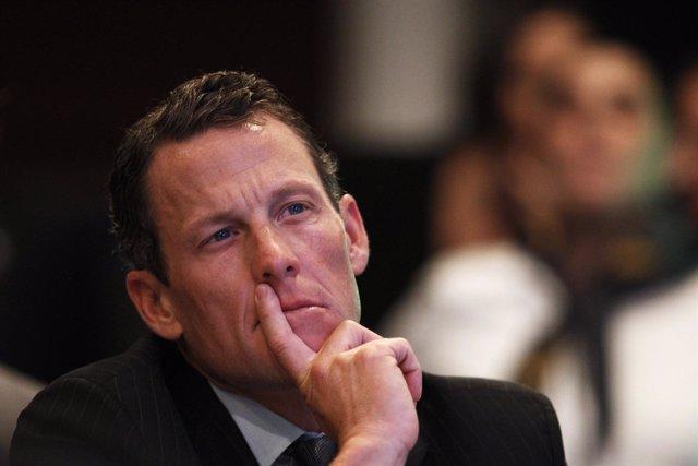 Ciclista estadounidense Lance Armstrong