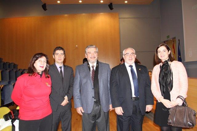 Visita del director General de Gestión Turística de Paraguay, Benjamín Chamorro