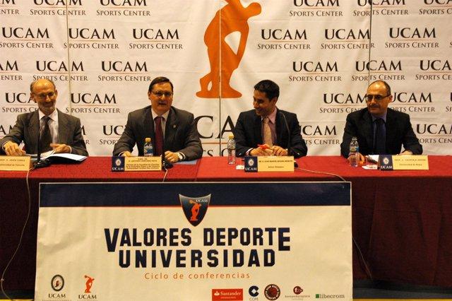 Imagen de la conferencia 'Educación en valores a través del deporte'