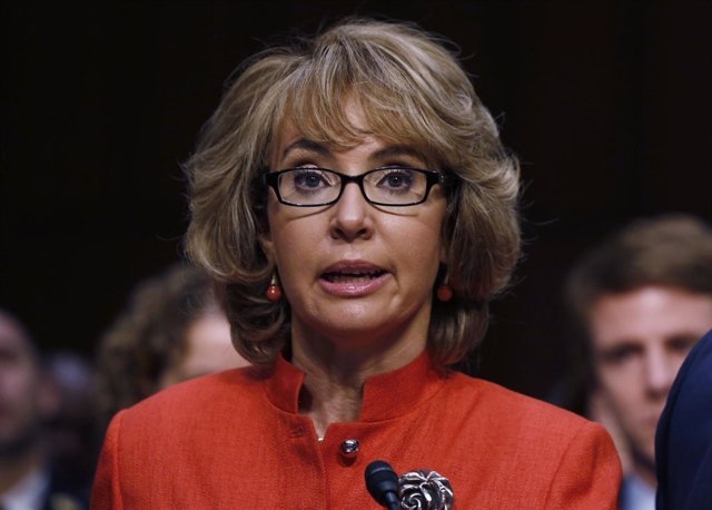 La excongresista de EEUU Gabrielle Giffords