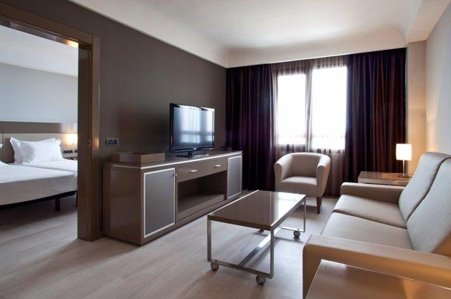 Interior de una de las habitaciones AC Hotel Sant Cugat