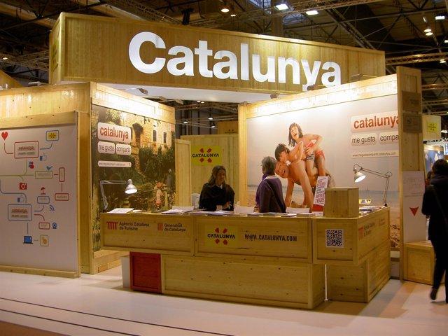 Stand de la Agencia Catalana de Turismo 2012-2013
