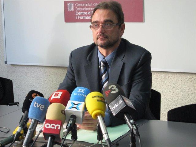 Jordi Domènech, inspector jefe del Área Ctral.De Personas de Mossos d'Esquadra
