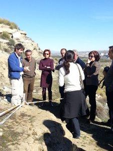 El Instituto Geológico y Minero protegerá el yacimiento de Fonelas