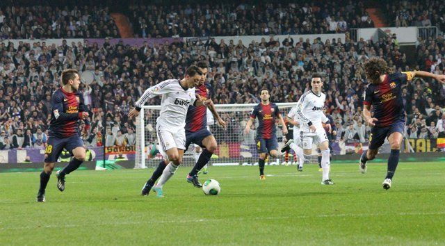 Real Madrid FC Barcelona Copa del Rey Messut Ozzil