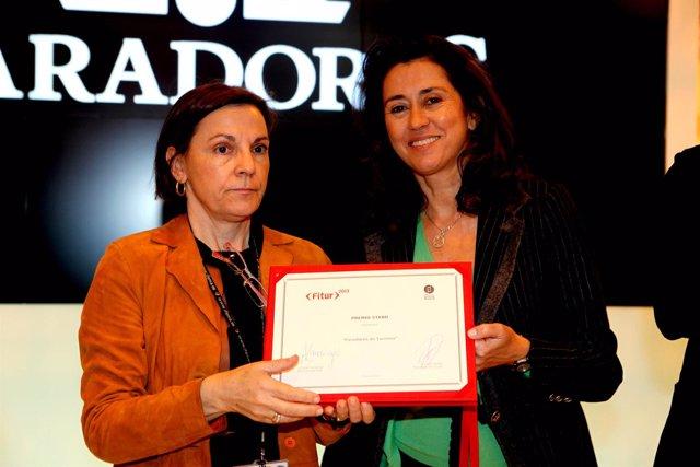 Alarcó recibe el premio al mejor stand de empresas