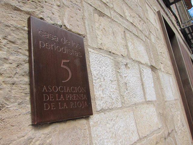 La Asociación de la Prensa de La Rioja cumple hoy cien años