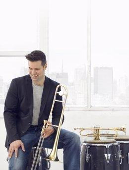 El trombonista y percusionista Carlos Martin presenta 'The Journey'.