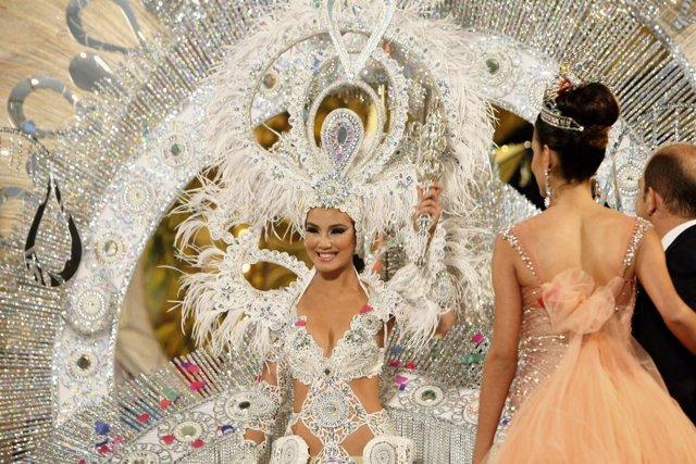 Giovanna Lee, Reina del Carnaval de Las Palmas de Gran Canaria