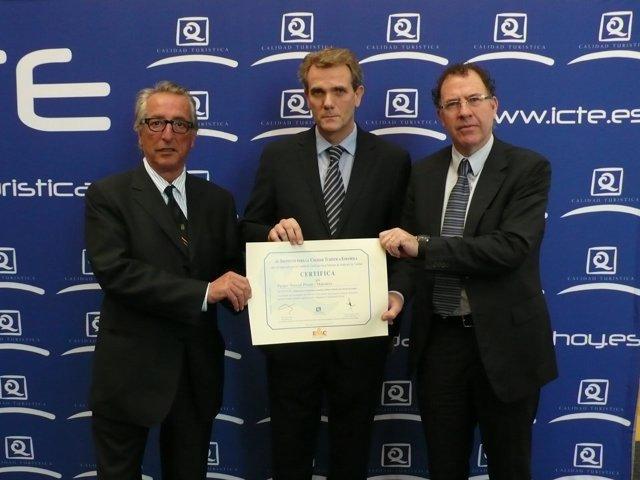 Munilla ha recogido el reconocimiento en Fitur, en Madrid