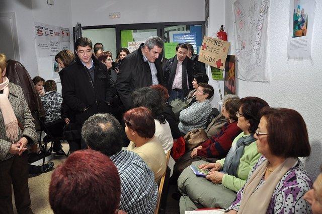 Villarrubia en el centro de salud de Villarino de los Aires