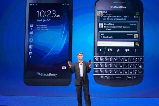 BlackBerry Z10 y Q10, los primeros BlackBerry 10