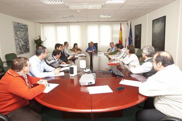 Reunión entre la consejera Blanca Martínez y el sector pesquero