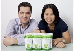 David Ferreres y Roselyne Chane, cofundadores de Snack Saludable