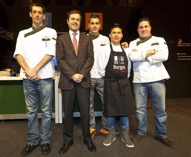 Muestra de cocina de CyL en Fitur