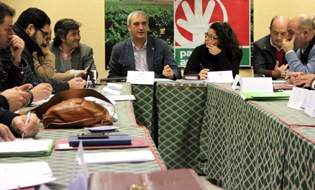 Comisión Ejecutiva Nacional del PA en Sevilla