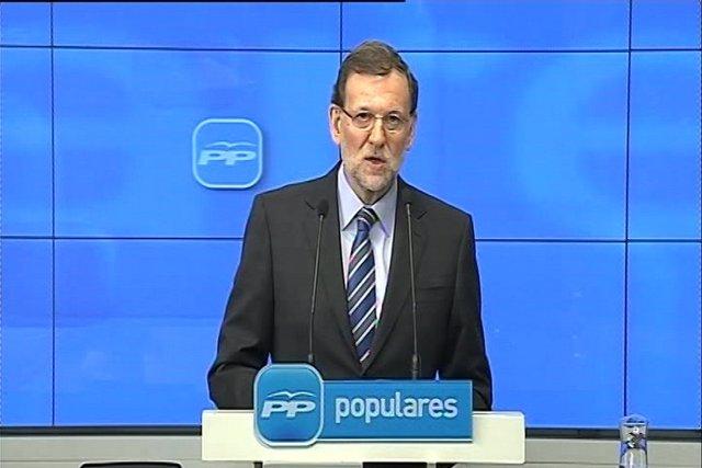 """Rajoy: """"Nunca he recibido dinero negro"""""""