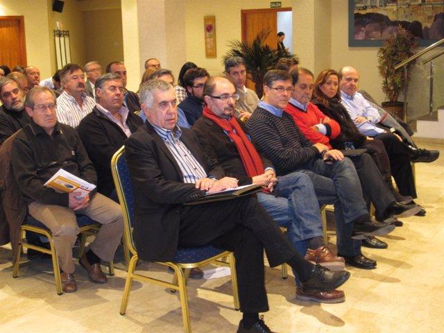 Jornadas sobre municipalismo del PSOE en Teruel