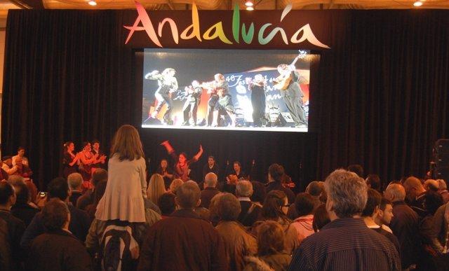 Expositor de Andalucía en Fitur