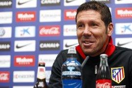 """Fútbol.- Simeone: """"El partido del jueves fue muy duro y ojalá podamos hacer un partido importante contra el Betis"""""""
