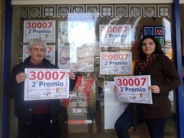 Administración Número 28 de Santander con el número premiado