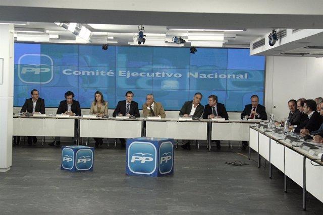 Comité ejecutivo nacional, PP, Génova