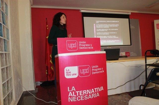 Portavoz de UPyD en Molina de Segura, Encarna Hernández