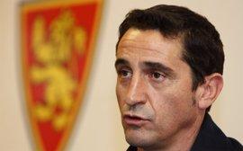 """Fútbol.- Jiménez (Zaragoza): """"Nuestra única intención es ganar al Málaga"""""""