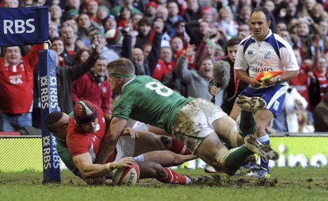 Irlanda da la sorpresa ganando a Gales en el Seis Naciones
