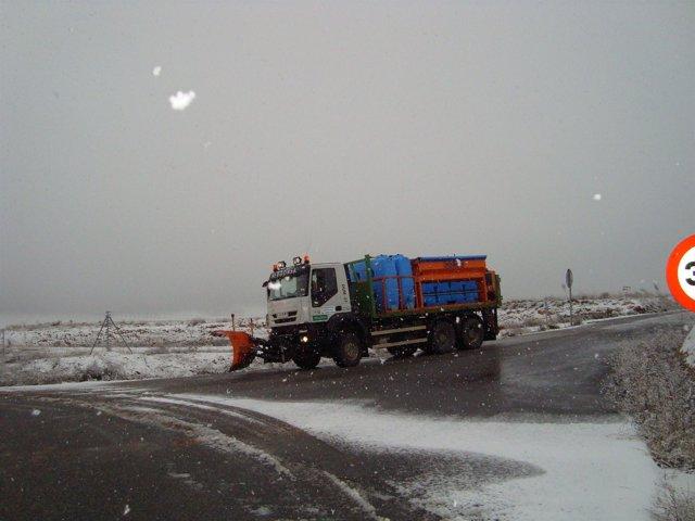 Camión quitanieves CyL