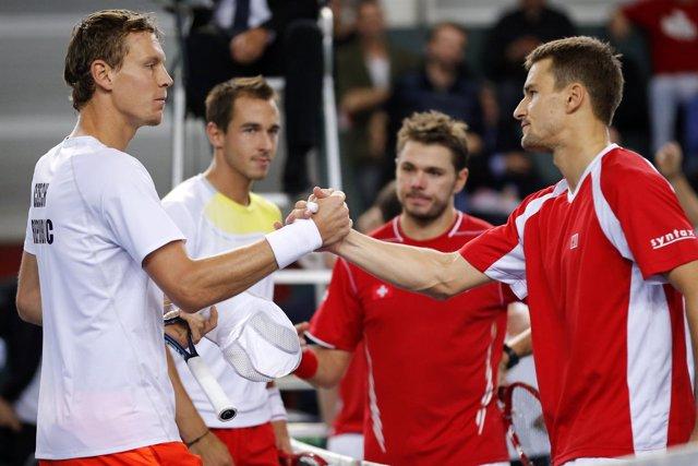 Berdych y Rosol ganan el partido más largo de la historia de la Davis