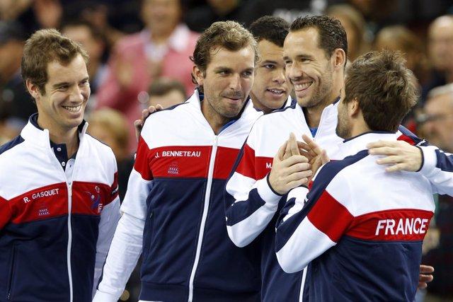 El equipo de Copa Davis de Francia