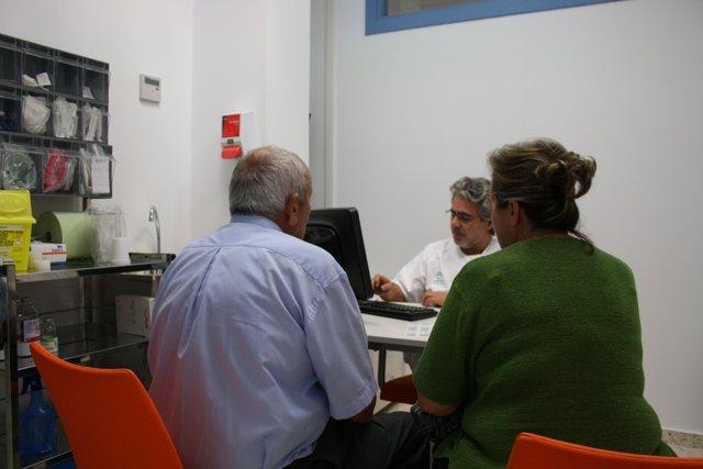 Imagen De La Consulta De Triaje Del Hospital Infanta Elena.