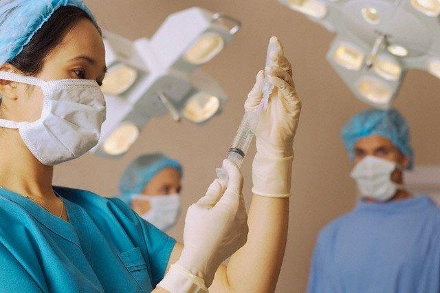 Imagen de una cirugía laparoscópica