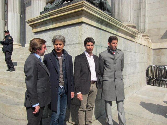 Toreros Registran ILP En El Congreso En Defensa De La Tauromaquia