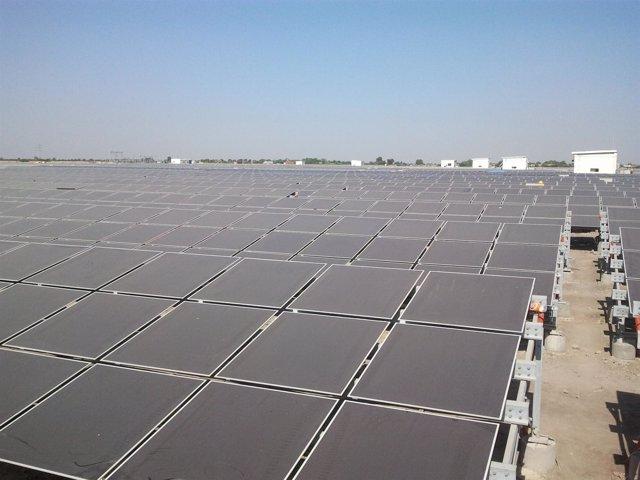 Planta fotovoltaica de T-Solar en India