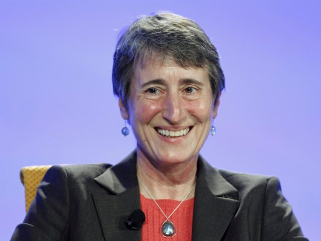 Sally Jewell, secretaria de Interior de EEUU