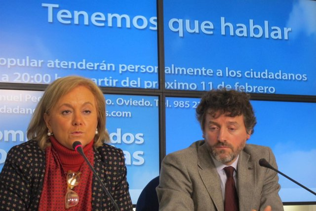 Mercedes Fernández y Matías Rodríguez