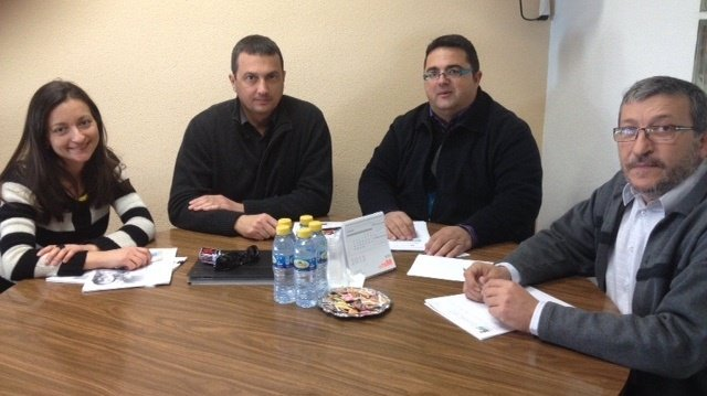 Reunión IU-Verdes y Feder