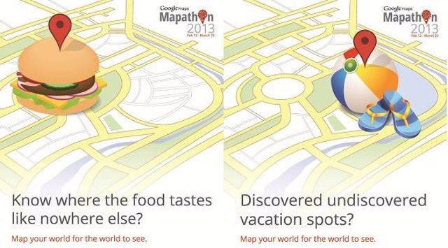 Mapathon 2013 Google Maps en la India