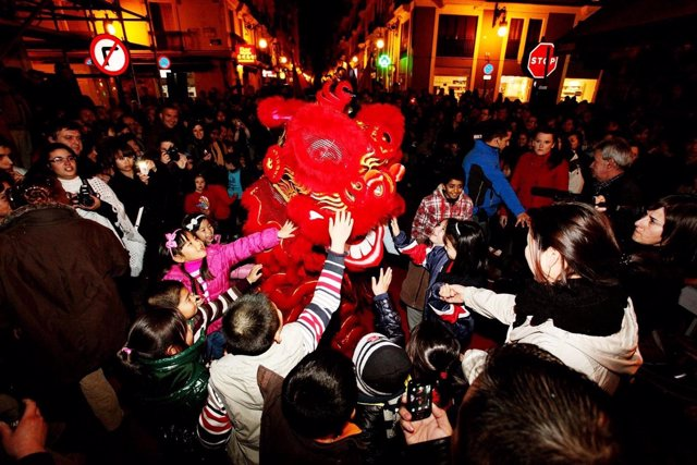 Cabalgata Año Nuevo chino