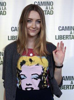 Saoirse Ronan Presenta 'Camino A La Libertad' En Madrid