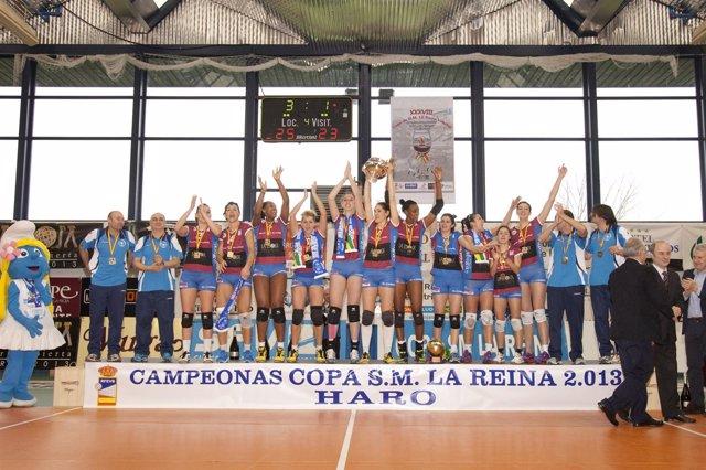 Hario Rioja Voley, campeón de la Copa de la Reina 2013