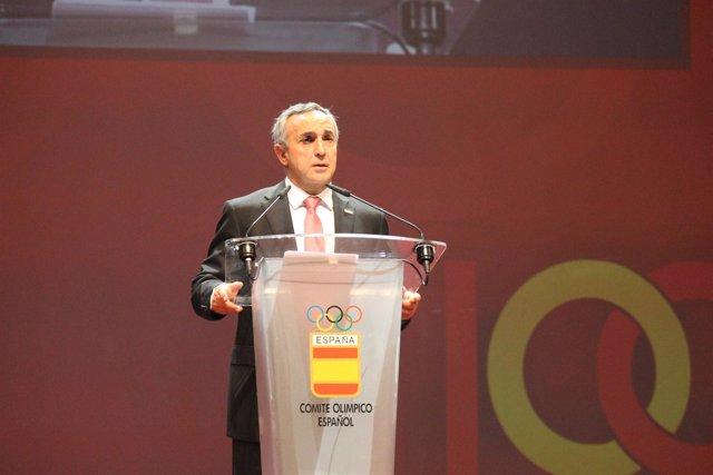 Alejandro Blanco Gala Centenario del COE