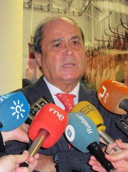 El presidente de la FOE, Antonio Ponce.