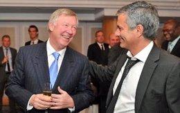 Alex Ferguson y José Mourinho