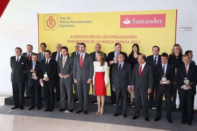 Embajadores honorarios de la marca España
