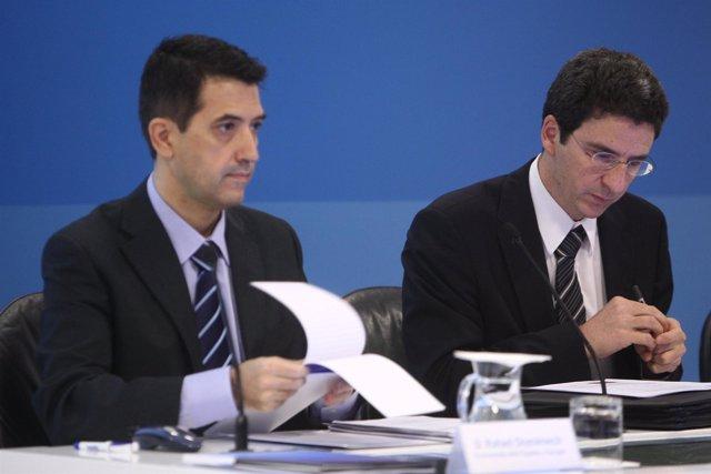 Rafael Doménech y Jorge Sicilia