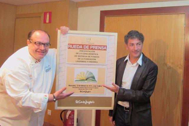 Javier Banderas y Andrea Tumbarrello