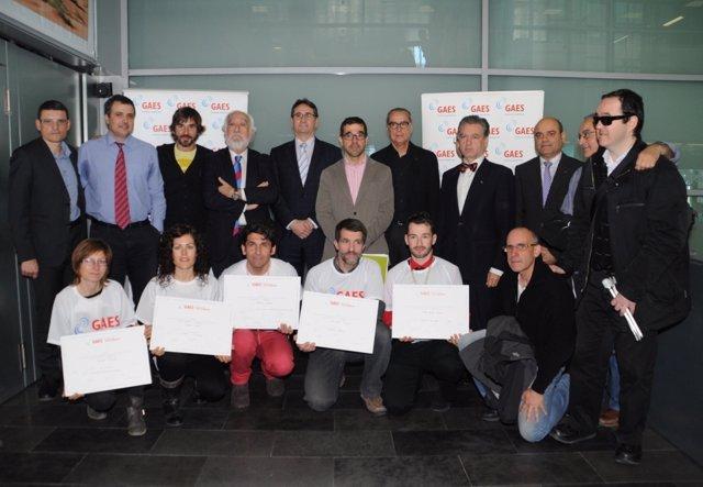 Ganadores de las becas 'Persigue tus sueños' de GAES